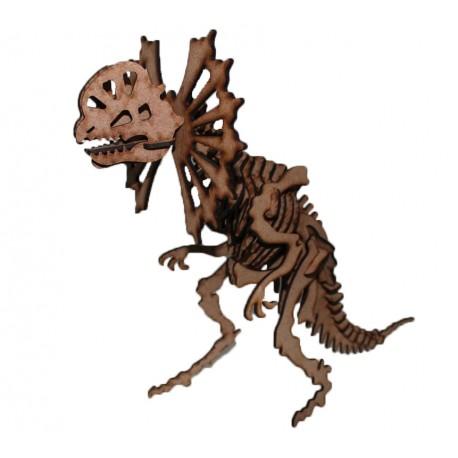Dilophosaurus Raptor 3D Puzzle