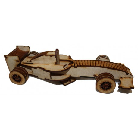 Formula 1 Car 3D Puzzle