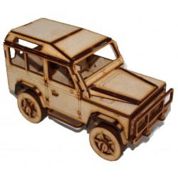 Landrover 3D Puzzle