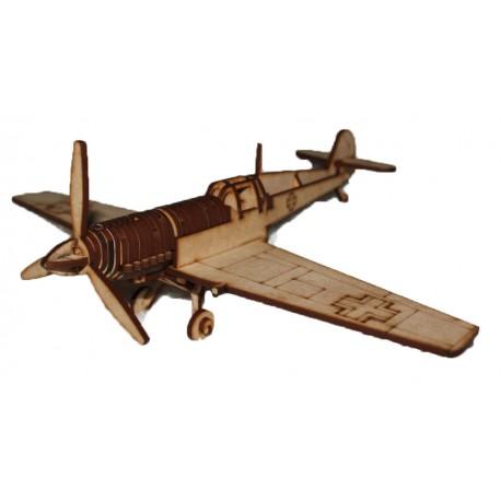 Messerschmitt BF-109 3D Puzzle