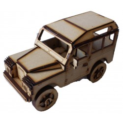 Land Rover Series 3 3D Puzzle