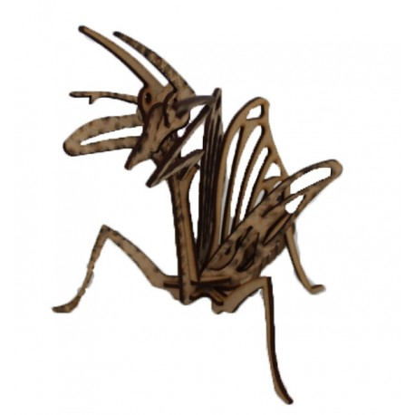 Praying Mantis 3D Puzzle