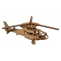 Rescue Helicopter 3D Puzzle