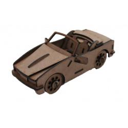 Sports Car 3D Puzzle