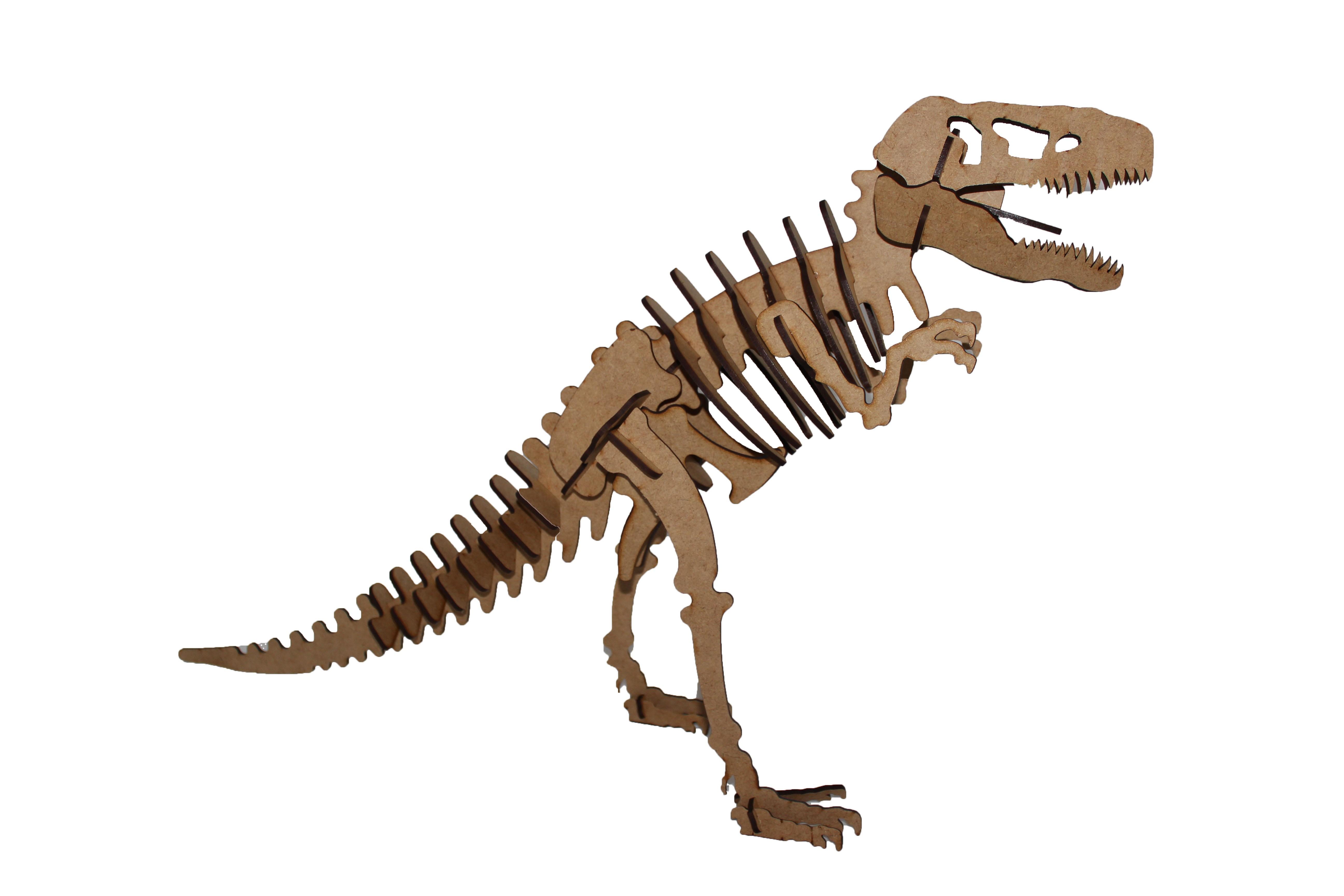 Dinosaur wooden puzzle dinosaur.tyrannosaurus rex t-rex