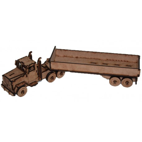 Truck and Trailer 3D Puzzle