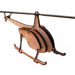 Chopper 3D Puzzle